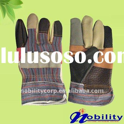 Colors Furniture Leather Working Glove Patched Palm