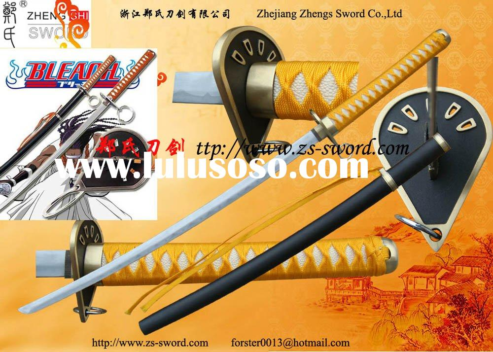 Cosplay Real Sword-Bleach Captain Kaname Suzumushi Zanpakuto Sword