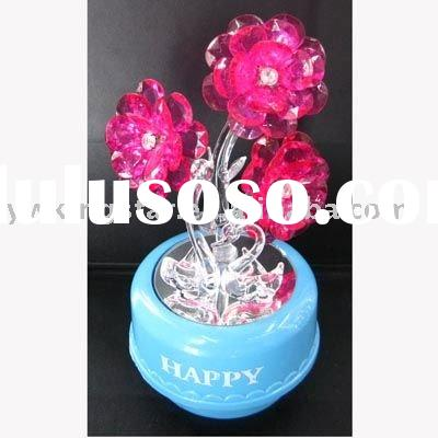 Crystal Flower for Wedding gifts