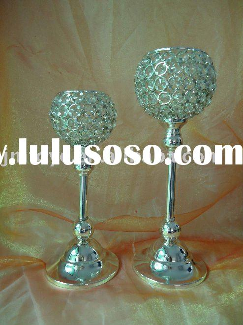 Crystal candle holder,wedding decoration,home decoration