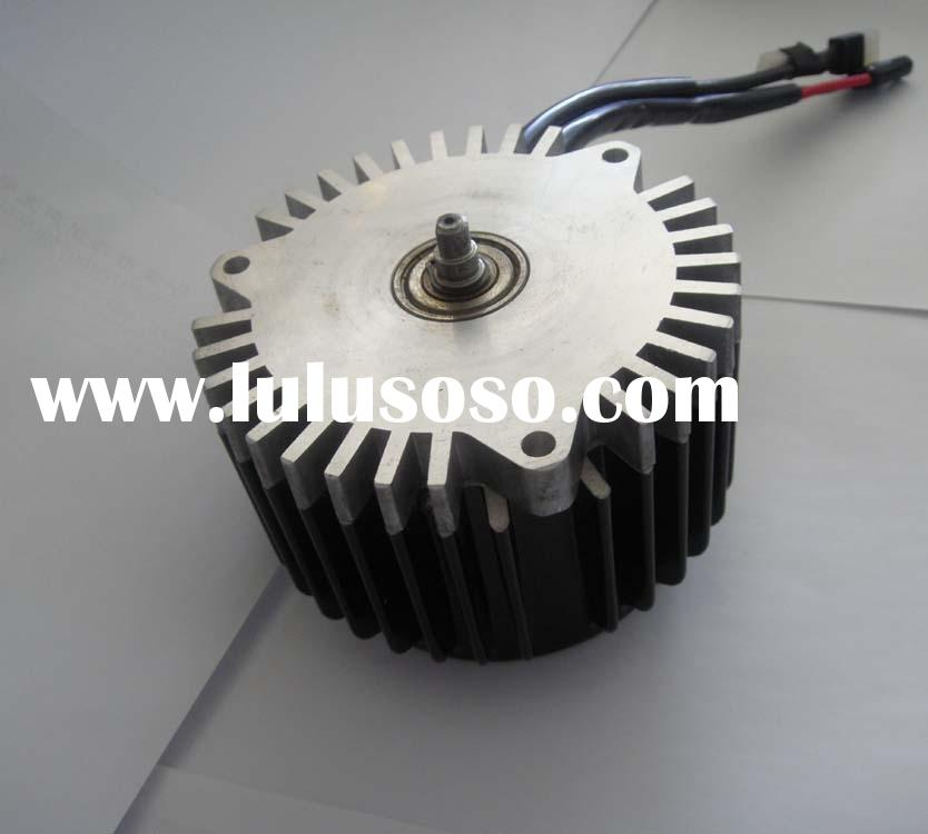 DC brushless motor for electric rotary mower
