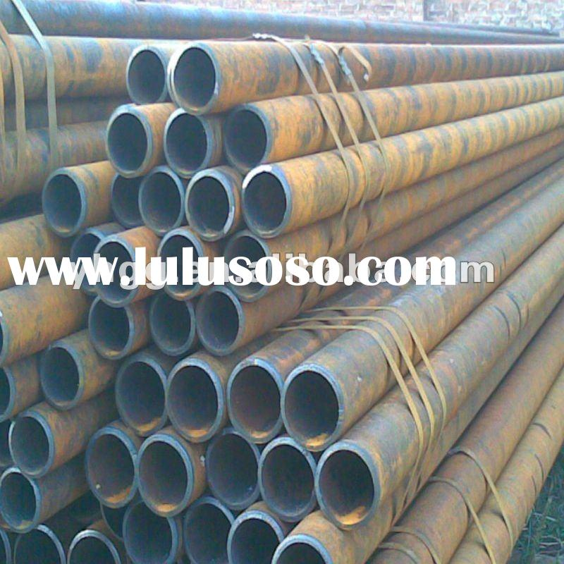 DIN 1626 Hot rolled seamless Galvanized pipe sch40 for boiler