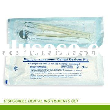 Disposable Dental Instrument Kits