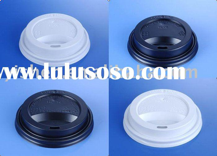 Disposable Plastic Coffee cup lid