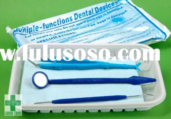Disposable dental instruments kit with CE,TUV standards
