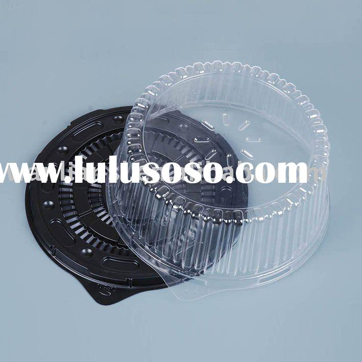 Disposable plastic cake boxes/packing