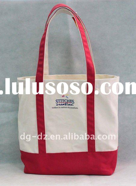 Durable Foldable Canvas Shopping tote Bag