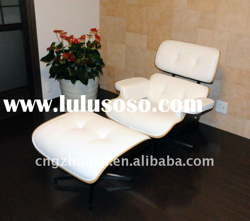 EAMES LOUNGE CHAIR,LEATHER LOUNGE CHAIR,designer lounge chair,eames chair,modern lounge chair/full I