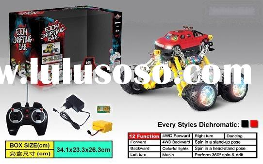 EN71 toy/12 Functions stunt,rotation and dancing radio control car