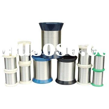 Electric resistance wire, alloy wire