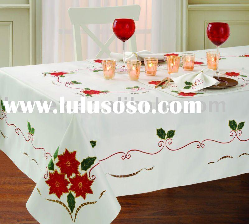 Related Products For Sale List. Embroidery Christmas Tablecloth