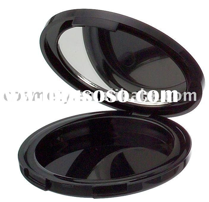 Empty Round Plastic Cosmetic Container Packaging