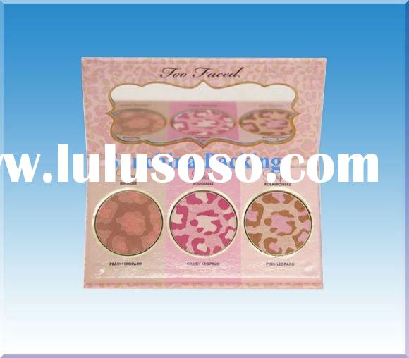 Empty freestyle makeup palette for cosmetic packaging(