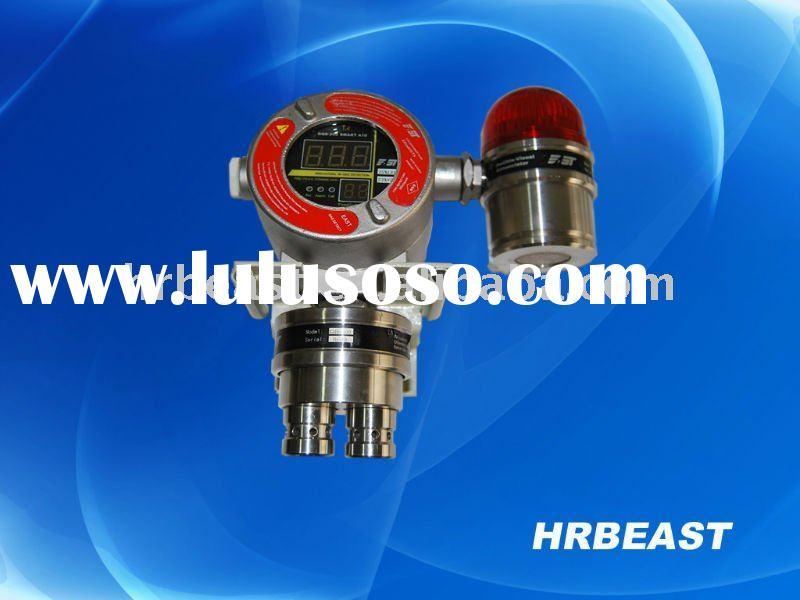 Ethylene gas detector alarm with audible and visual alarm