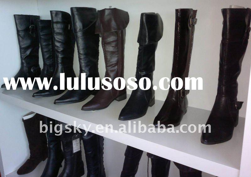 Fashion Leather boot for women's