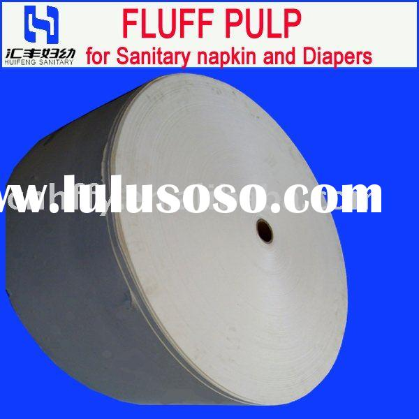 Fluff Pulp for Sanitary Napkin and Diapers