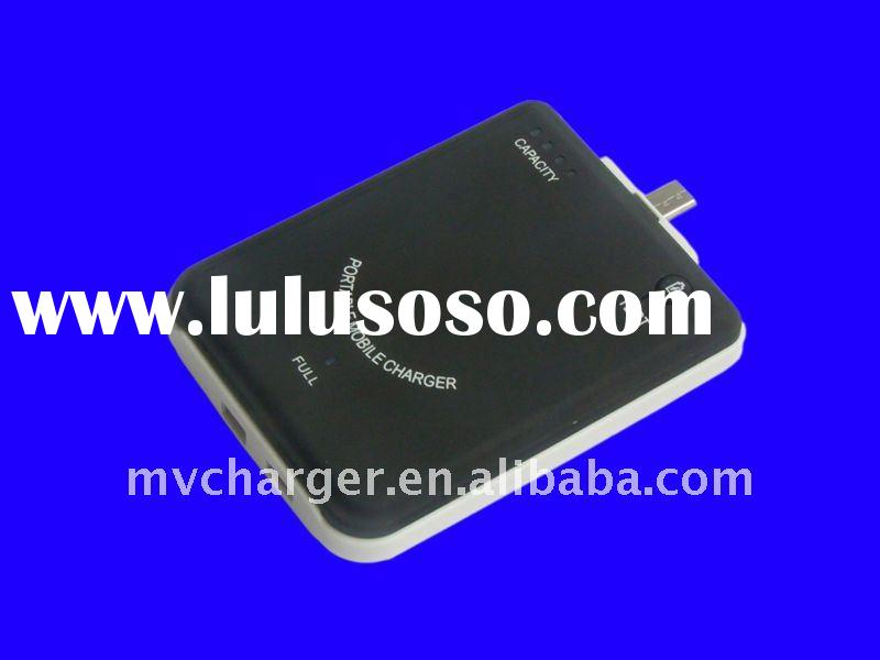 For blackberry portable battery charger micro usb