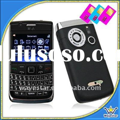Four Bands GSM Cell Phone 3 Sim Card with Wifi TV