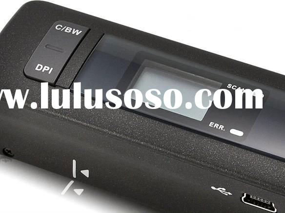 Free Shipping Wholesale 3pcs Rechargeable Wireless Mini Portable Cordless 600DPI Color Scanner