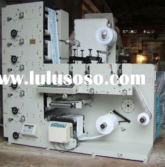 Full-Automatic Flexographic label Printing Machine ( RY-A320 Stack Type)