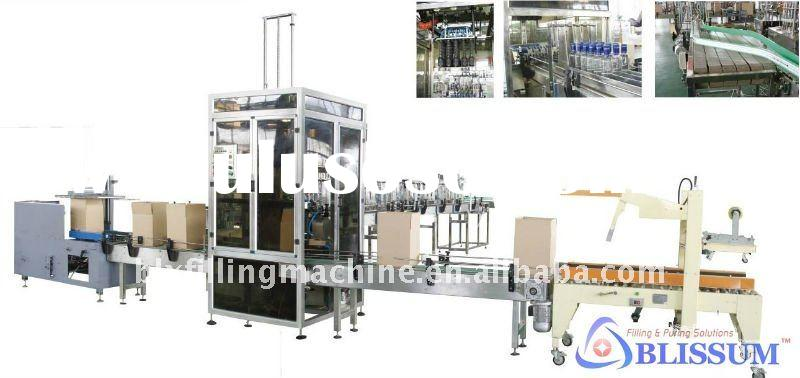 Full Automatic beverage bottle Carton Packaging Machine