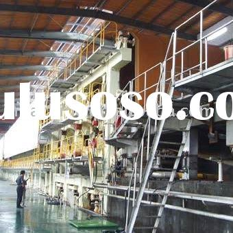 Full automatic coated paper bag making machine
