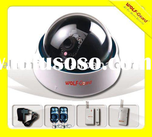 GSM/MMS home alarm system with camera