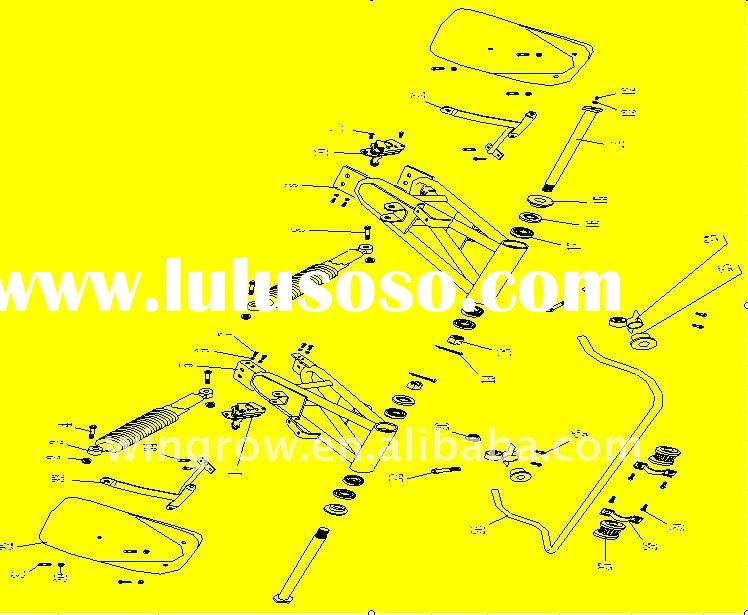 GSmoon 150cc byggy REAR SHAFT TRANSMISSION../parts of atv buggy scooter motorcycle