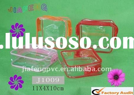 High Quality and Waterproof, Made-to-Order PVC Cosmetic Bag
