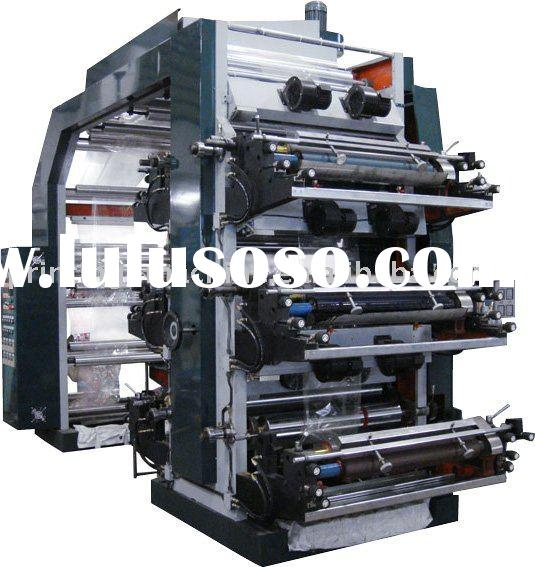 High Speed 6 Color PP Bag Printing Machine(CH886)