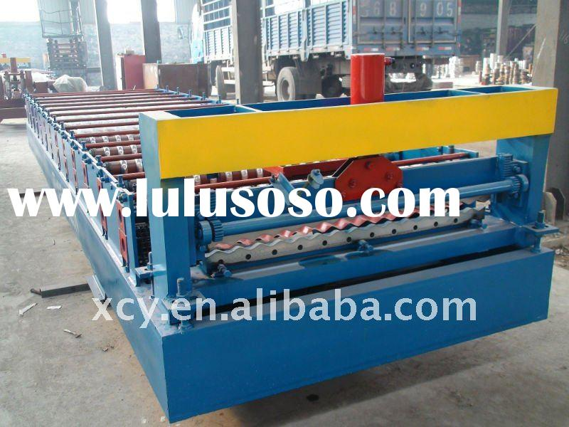 Hot Sale 1000 corrugated metal color steel roll forming machine