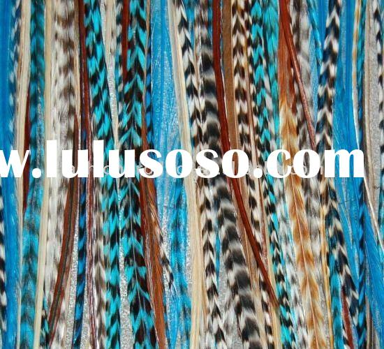 Hot sale feather hair extension