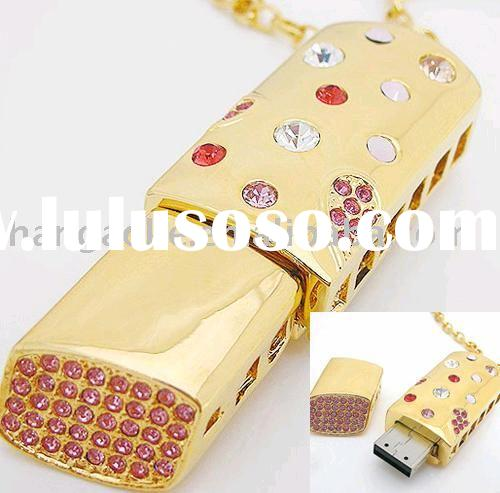 Hot sell gift crystal usb flash drive 2.0