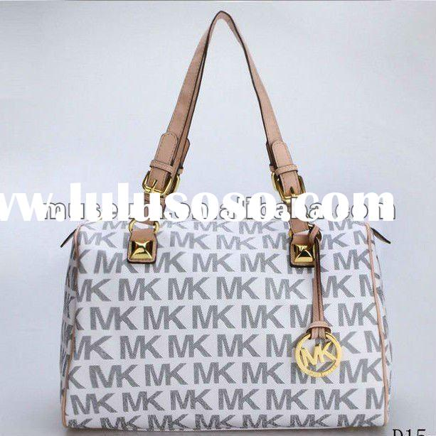 Hot selling Michael Kors brand name designer handbags with monogram material