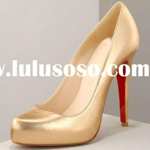 Hot selling new fashion ladies high heel shoes