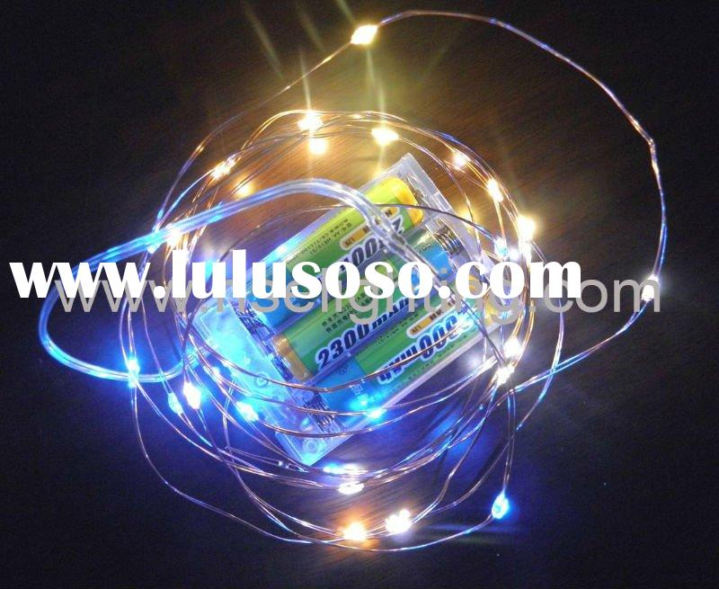 Ice LED fairy light battery operated