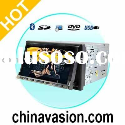 In Dash Car DVD Player, Bluetooth, iPod Compatible