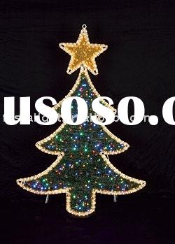 Indoor/Outdoor LED Christmas Tree