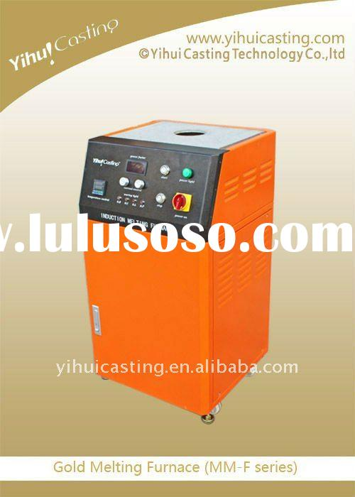 Induction gold melting furnace--gold smelter ,metal processing machinery