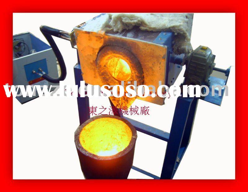 Small Gold Silver Copper Melting Machine Induction