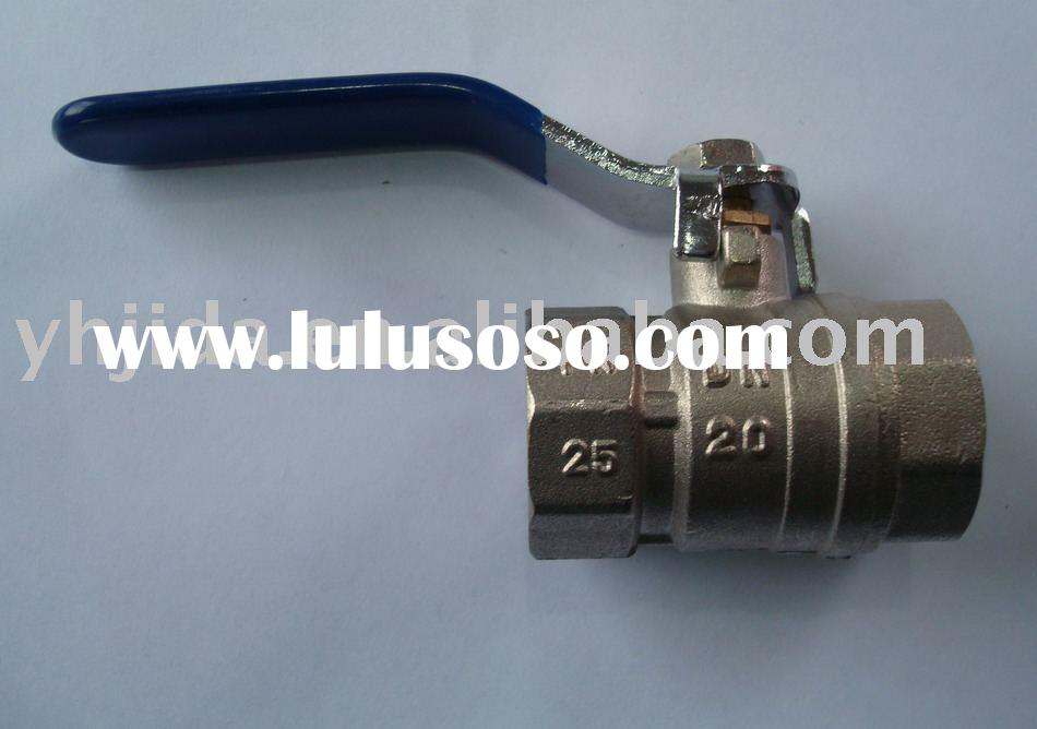 JD-4010 Forged brass ball valve with( full bore)