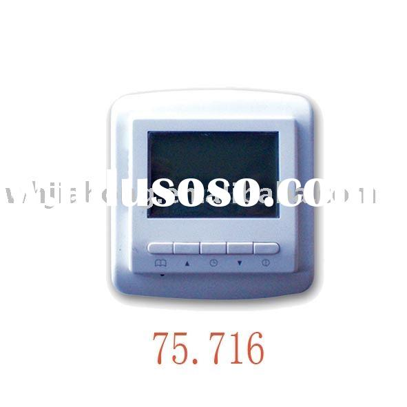 JH75 weekly programmable floor heating thermostat