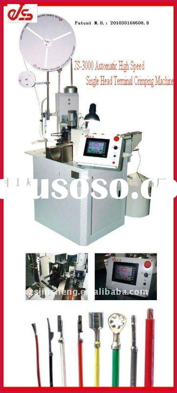 JS-3000 Fully automatic high speed single head terminal crimping machine