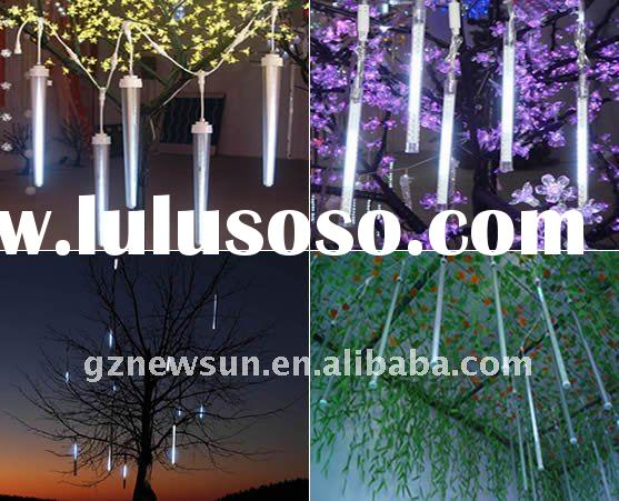 LED Meteor Shower Light for holiday or out door Decoration
