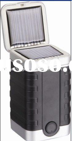 LED solar Lantern rechargeable camping light