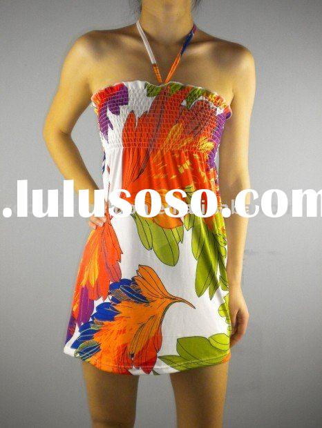 Ladies fashion mini dress ,2011 summer hot sellers
