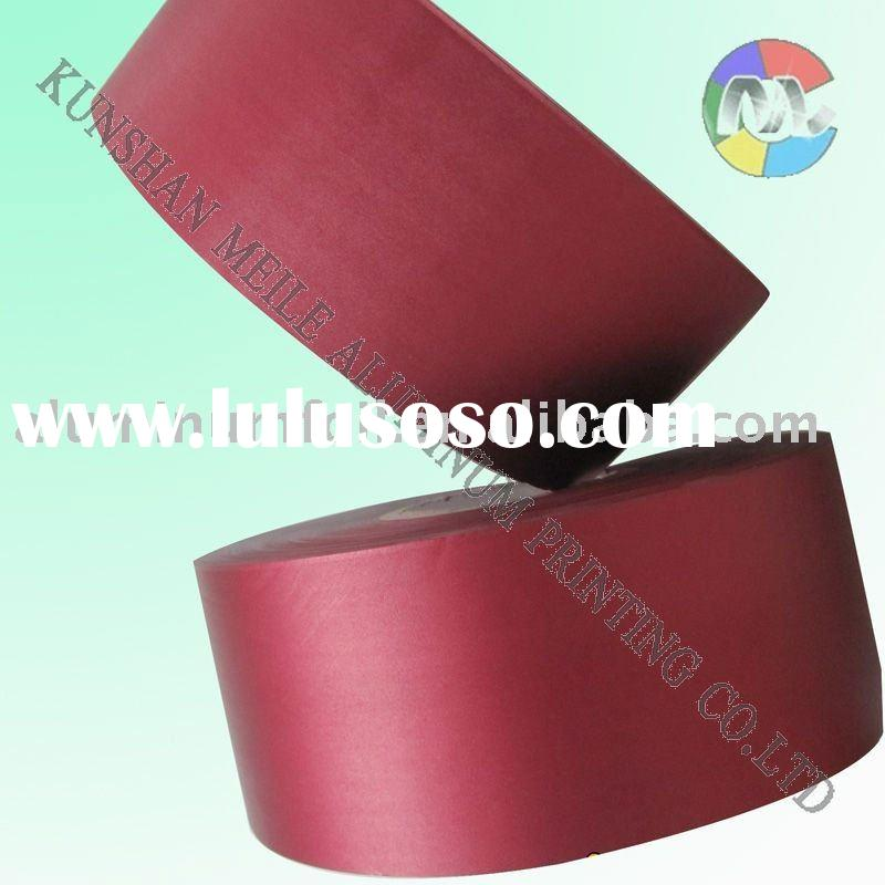 Laminated aluminum foil paper for food packing