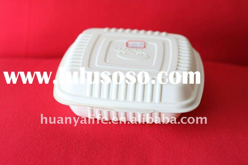 Large Clamshell Fast Food Take away Container!Biodegradable & Eco Friendly