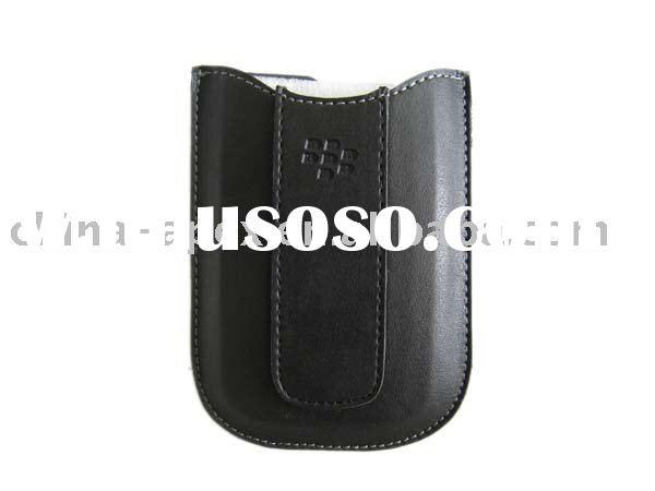 Leather Case Cover Pouch for Blackberry 8900 Curve