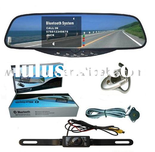 License Plate Rearview Camera Car Bluetooth Handsfree Kits(BT728)